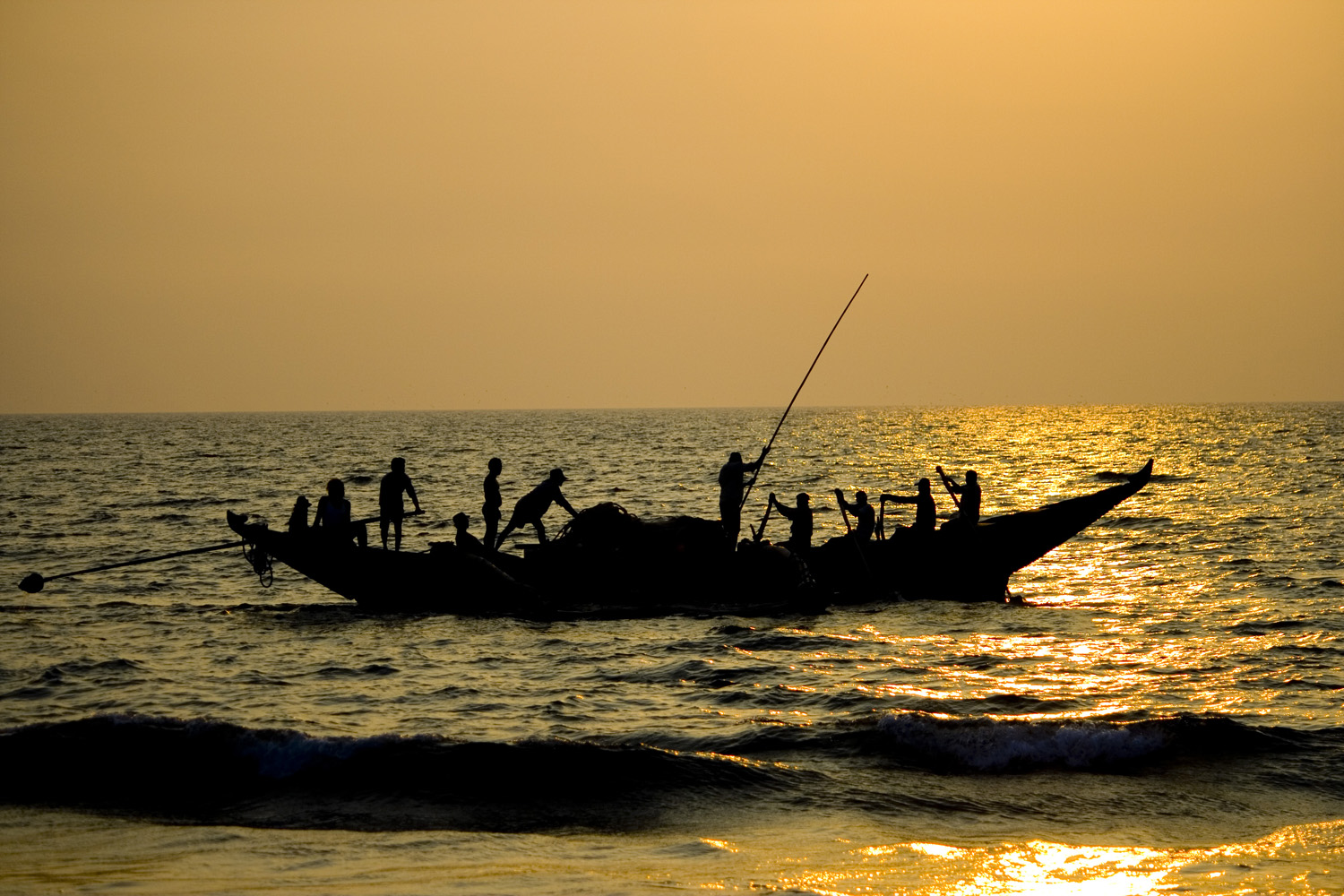 Fishermen in Goa (Andy Webb)