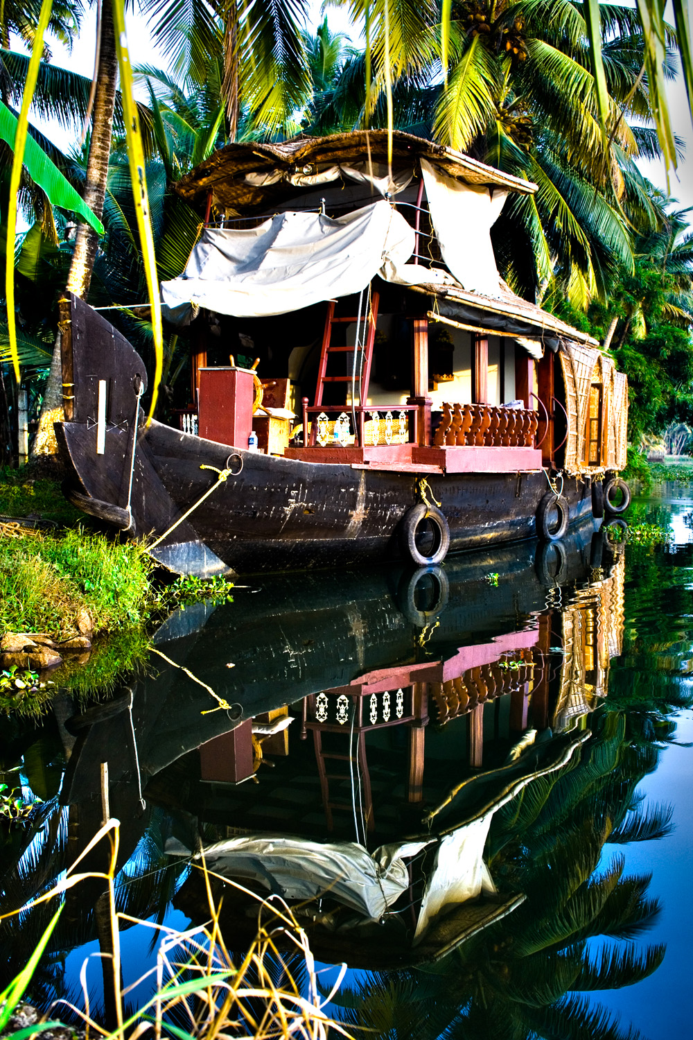 Kerala houseboat, India (Andy Webb)