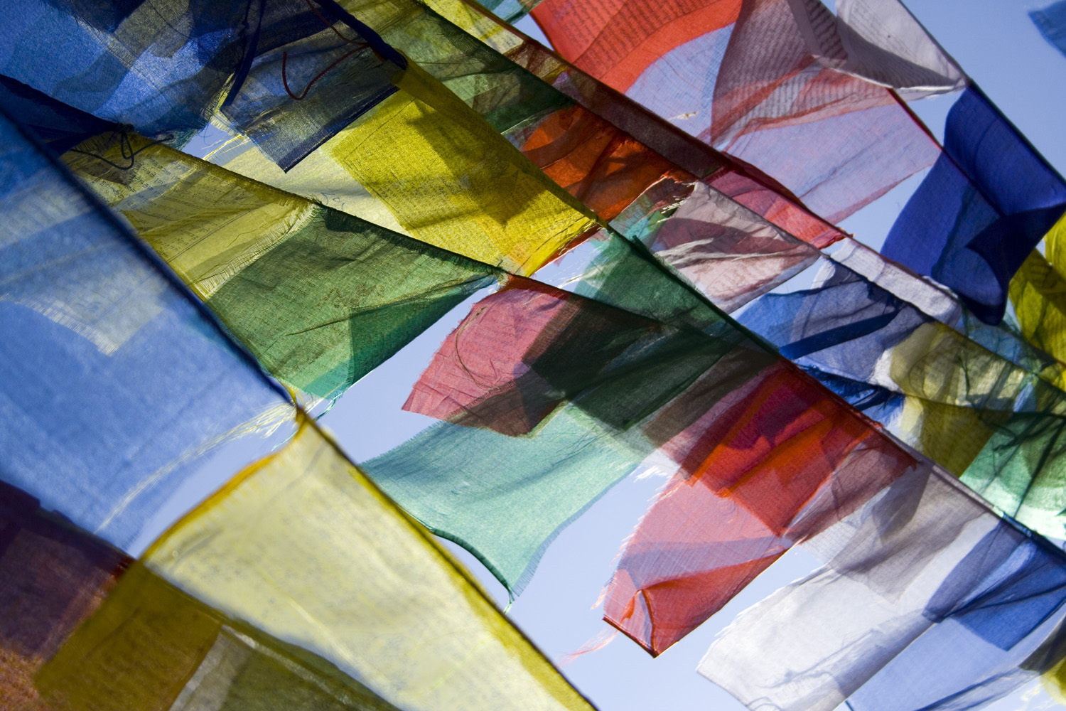 Nepalese Prayer Flags (Andy Webb)