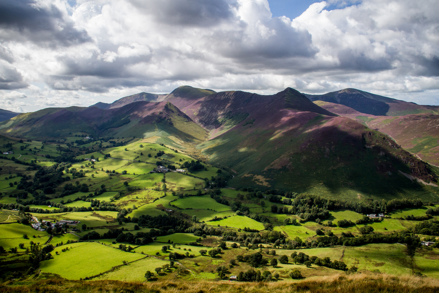 View from Catbells, Lake District (Andy Webb)